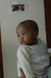Amelie, age 10 months, Toukoul Orphanage